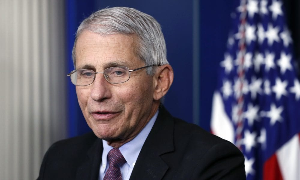 Dr. Anthony Fauci Has Good Feeling About NBA's Bubble Plan