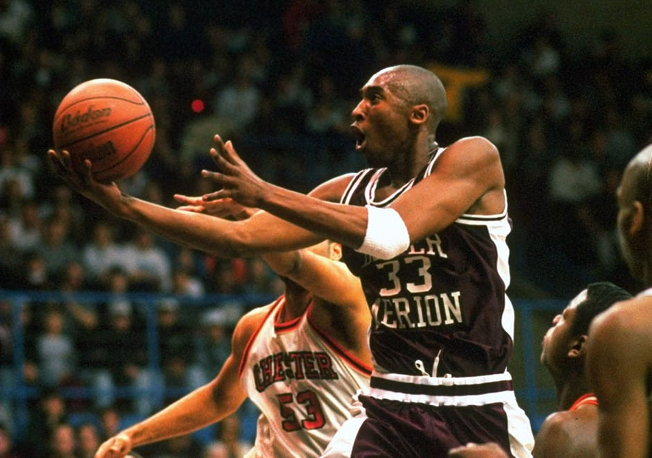 22 Hours of Kobe Bryant High School Footage To Be Auctioned Off