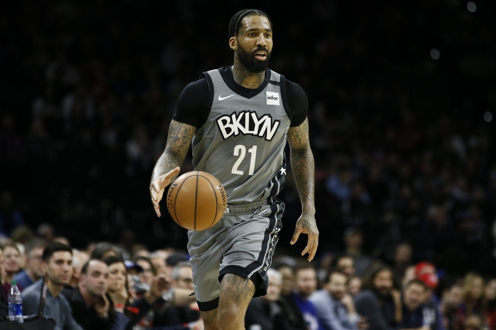 Brooklyn Nets Wilson Chandler Forgoing Orlando To Stay With Family