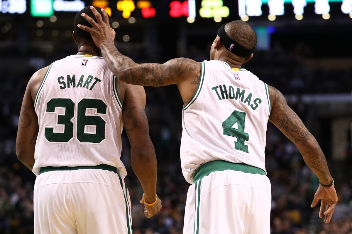 Marcus Smart: Isaiah Thomas 'Best to Ever Do it Under 6 feet'
