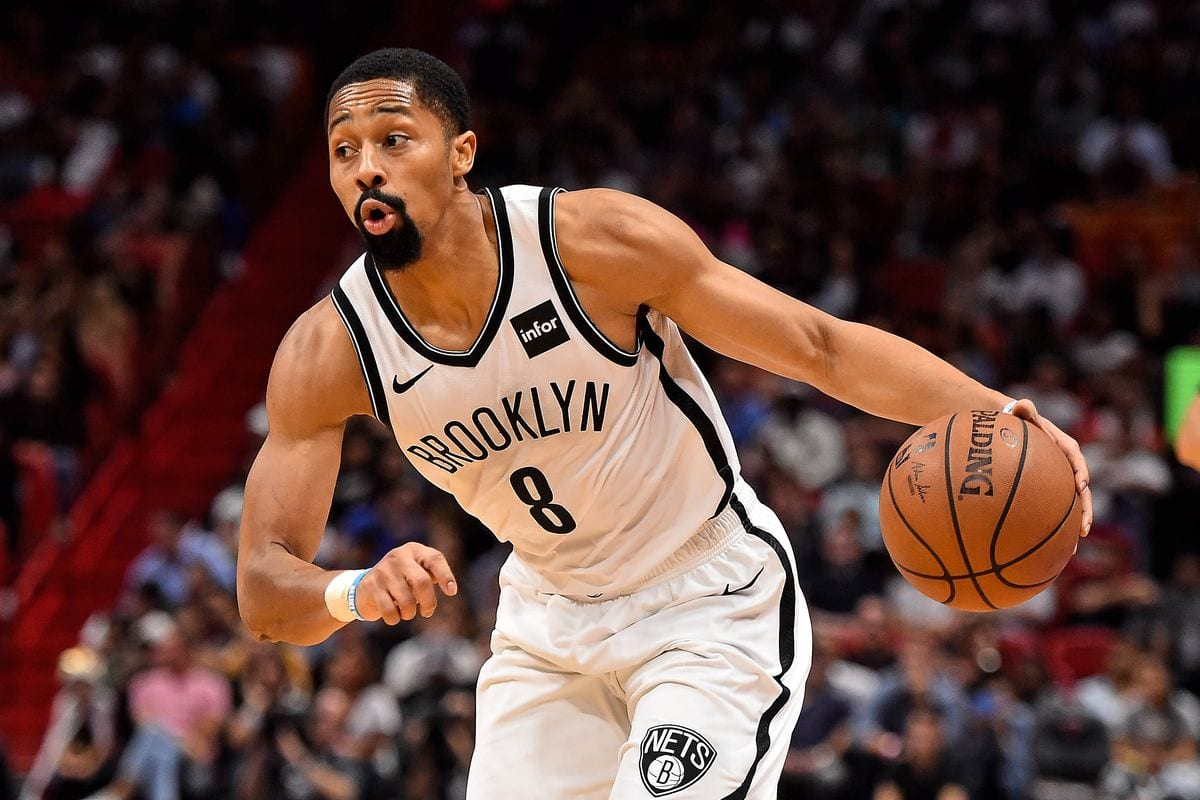 Nets guard Spencer Dinwiddie
