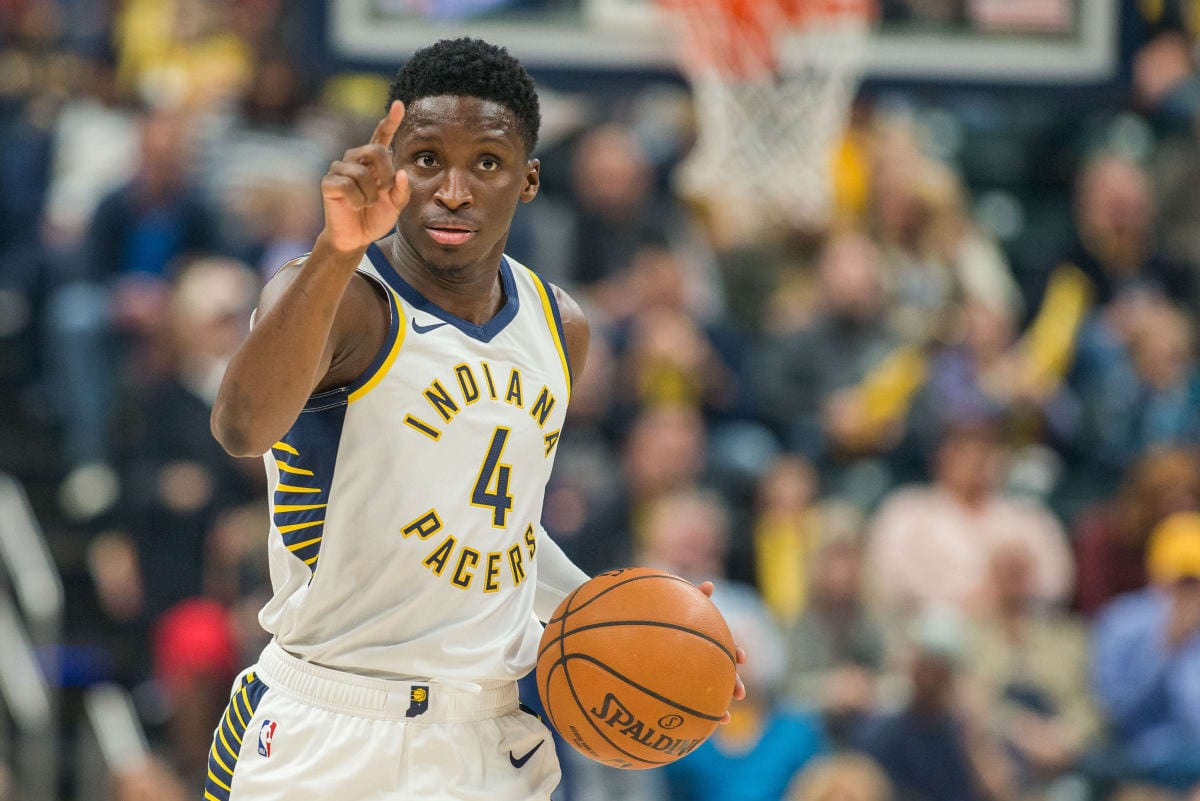 Victor Oladipo of the Pacers