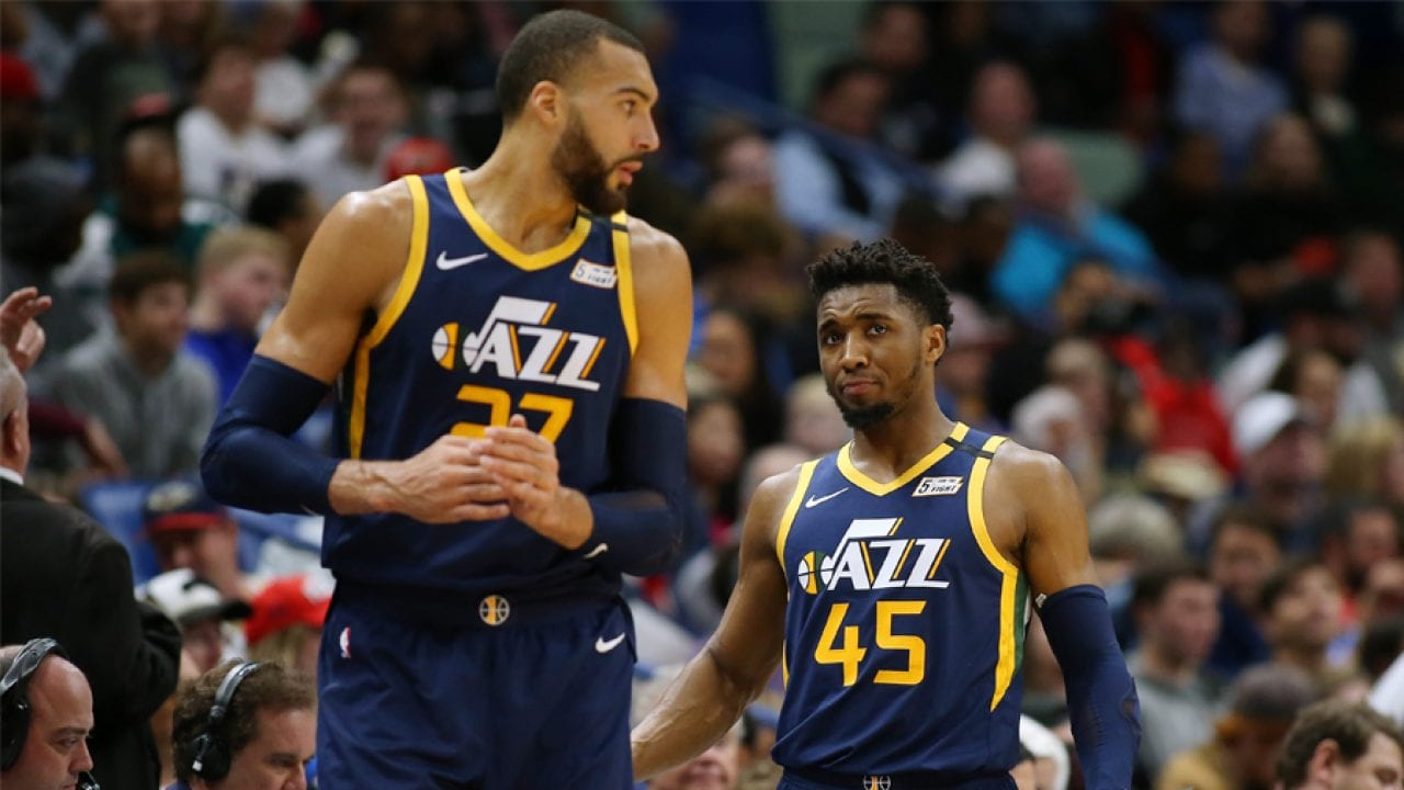Donovan Mitchell Says Relationship With Rudy Gobert Has Improved