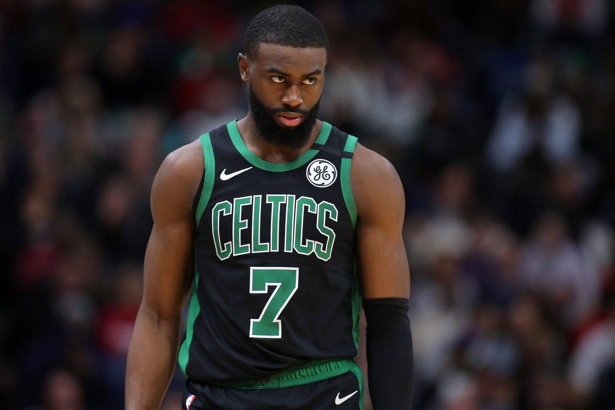Why Jaylen Brown Changed His Mind About Opting Out of Orlando