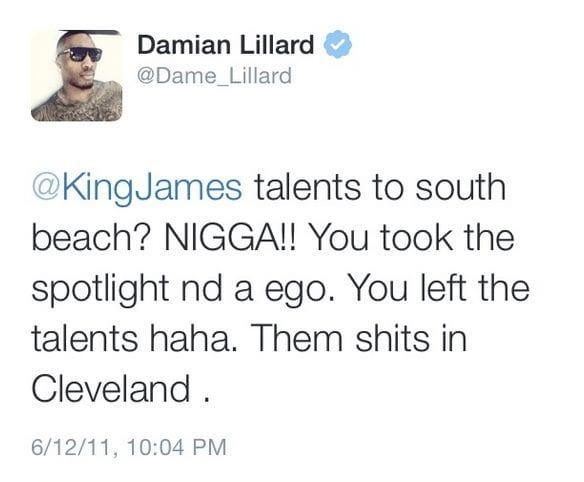 savage tweet