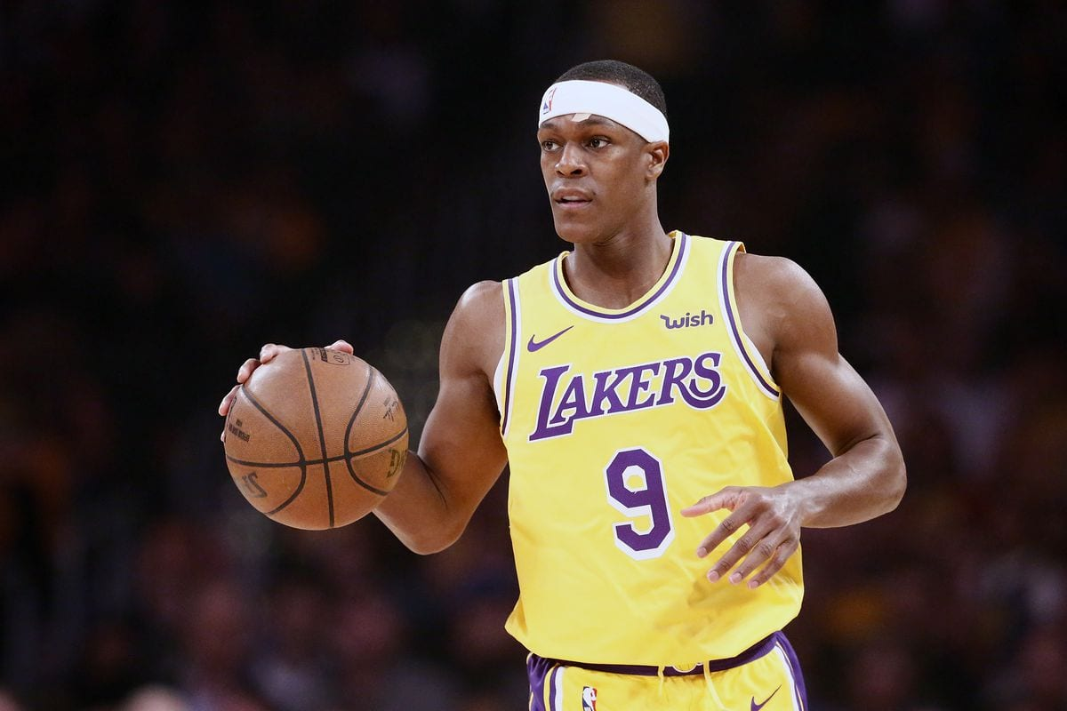 Rajon Rondo Suffers Fractured Thumb At Practice