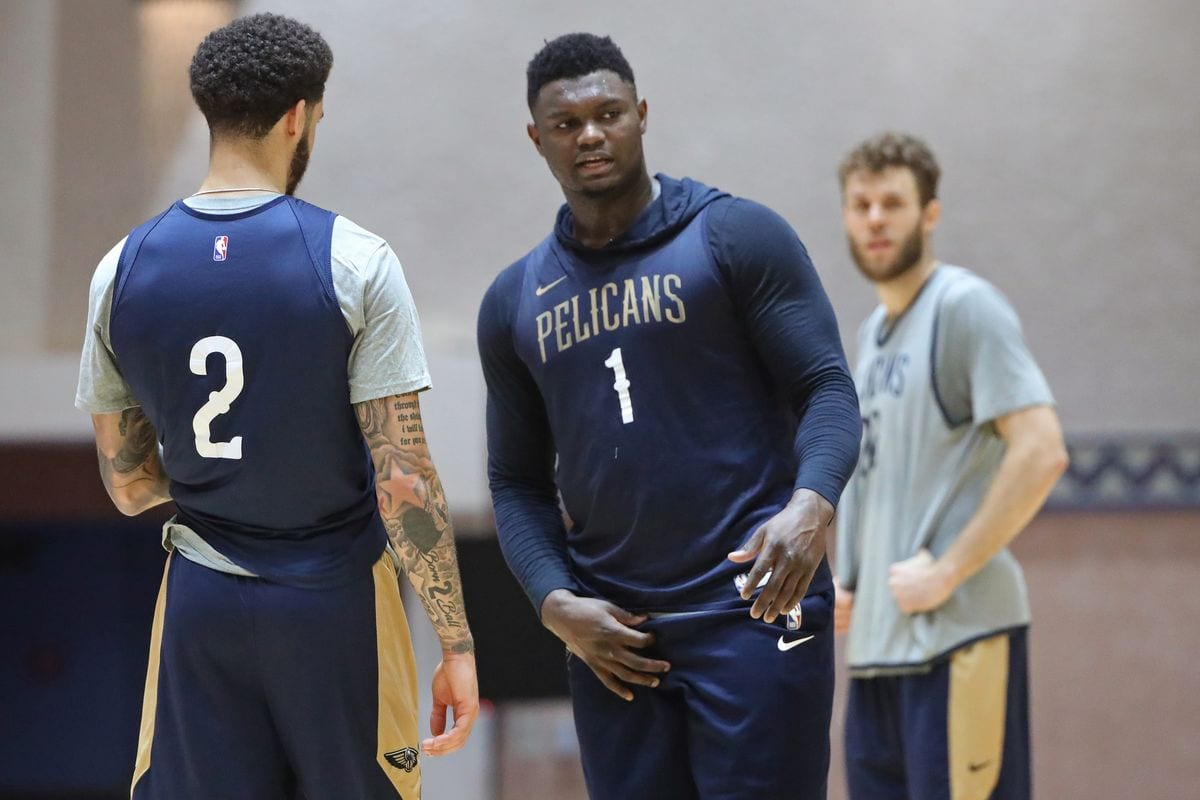 Zion Williamson Leaves NBA bubble For Family Emergency