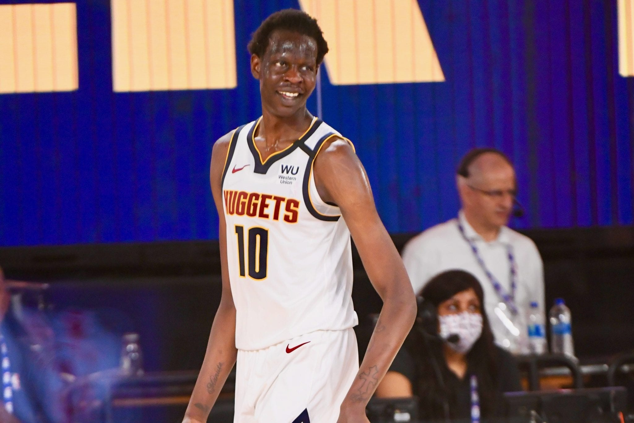 Nuggets' Bol Bol Racks Up a Double-Double In First Scrimmage