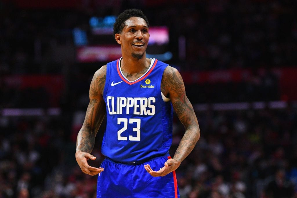 Lou Williams of the Clippers