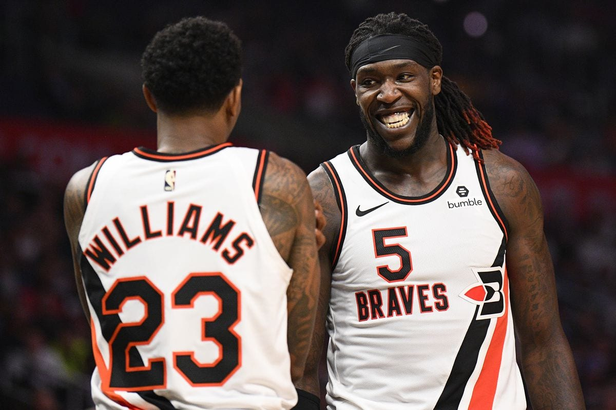 Lou Willams and Montrezl Harrell