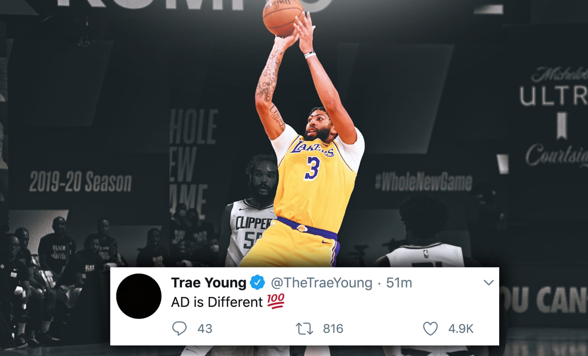 NBA Players React to Lakers-Clippers Thriller, Basketball Returning