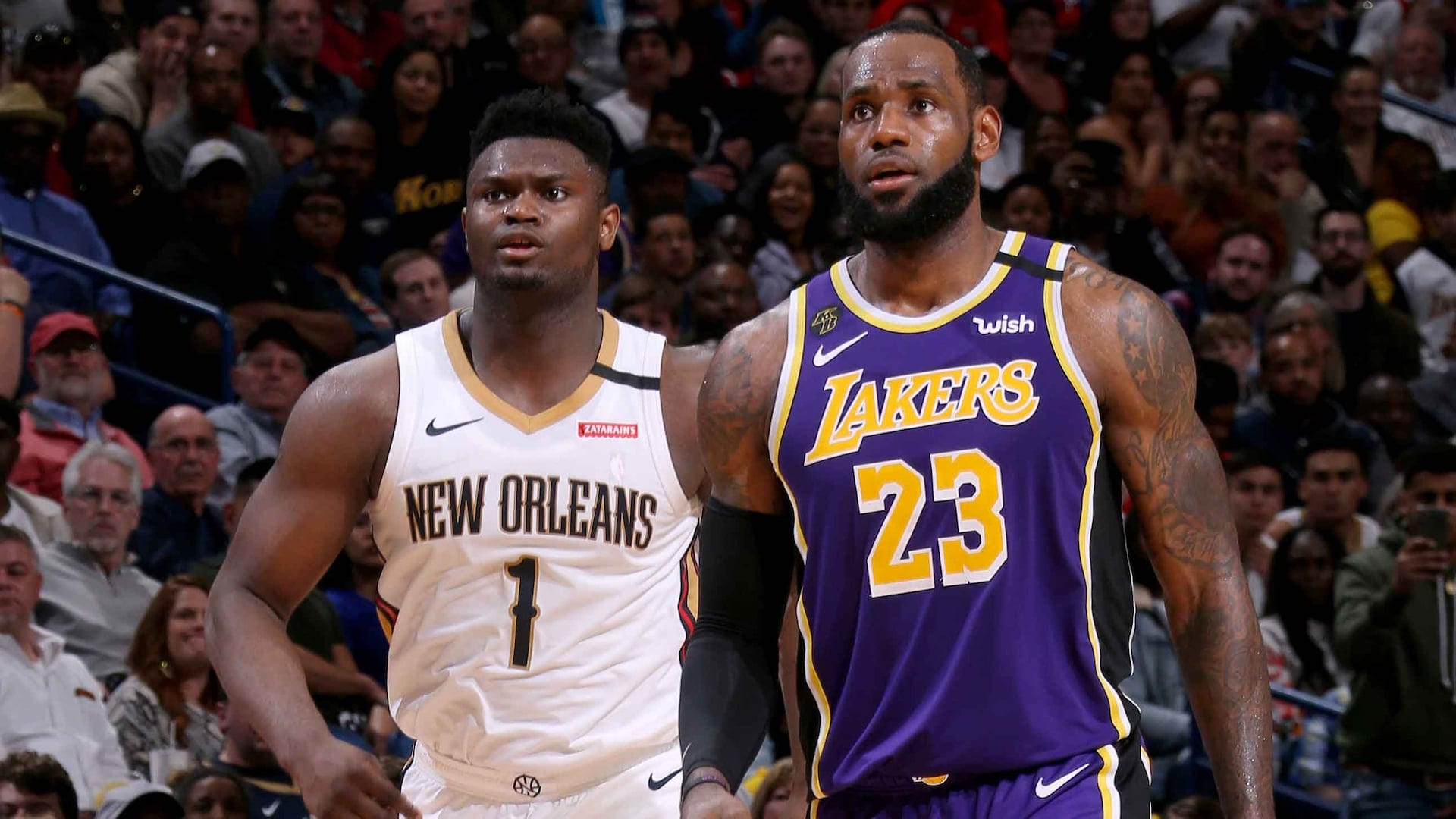 LeBron and Zion