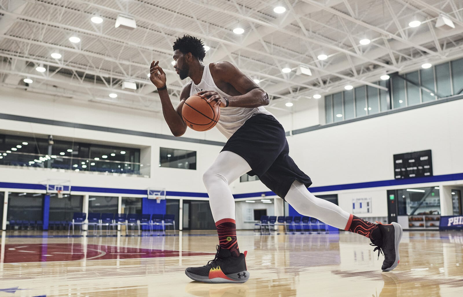 Joel Embiid Debuts the Under Armour 'Embiid One', His First Signature Shoe