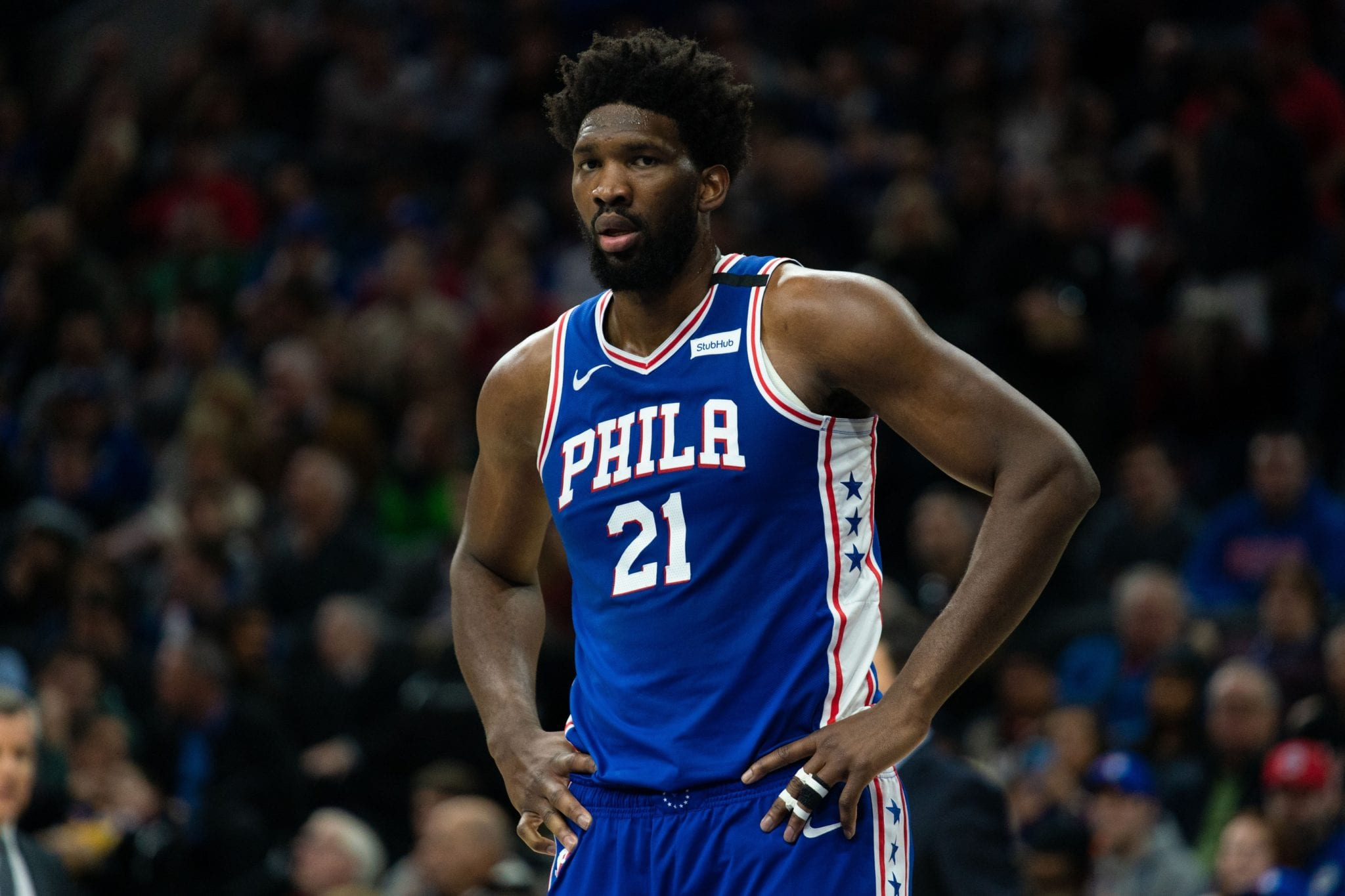 Joel Embiid's Ankle Injury Does Not Appear to Be Serious