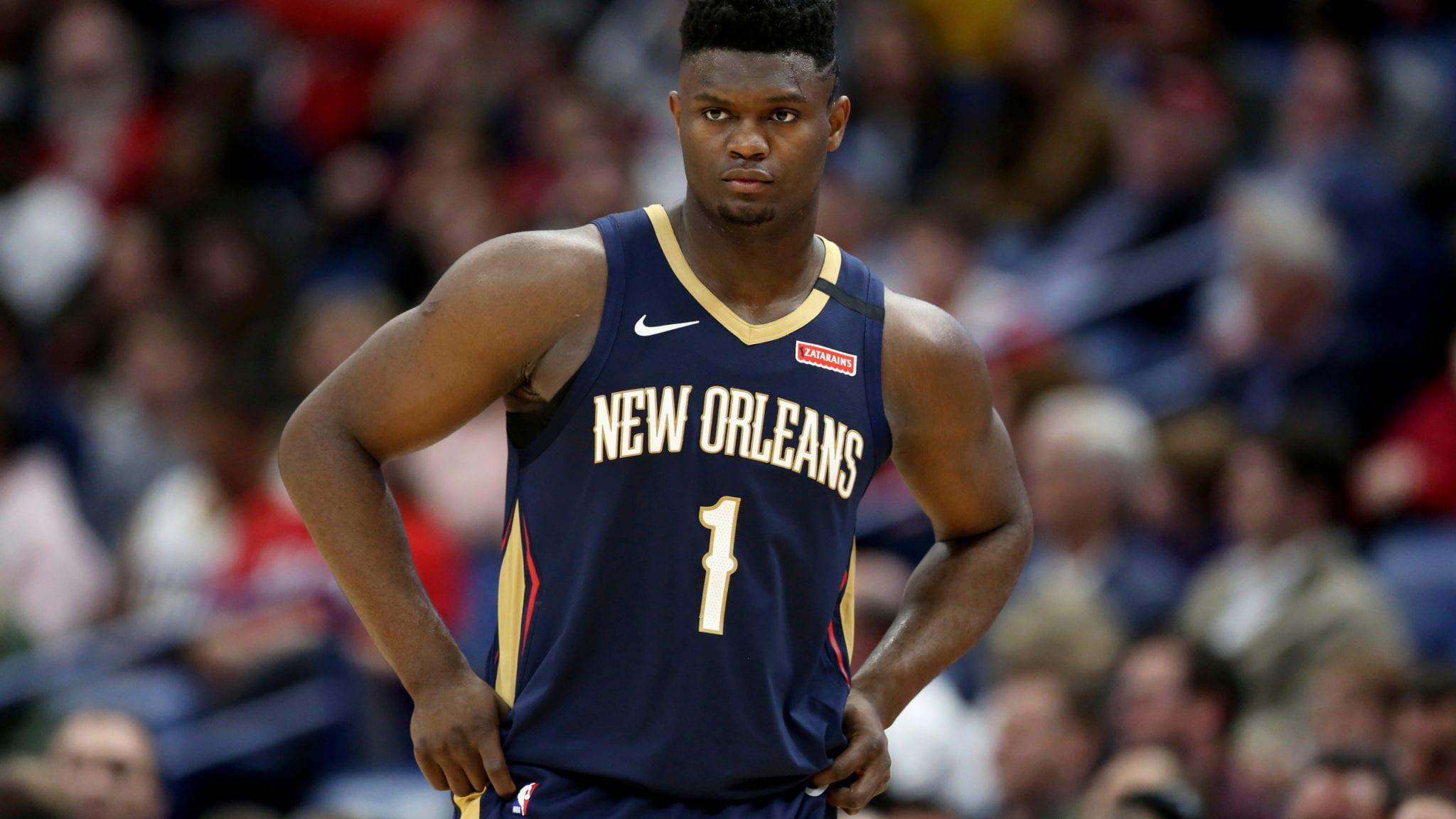 Zion Williamson Pelicans