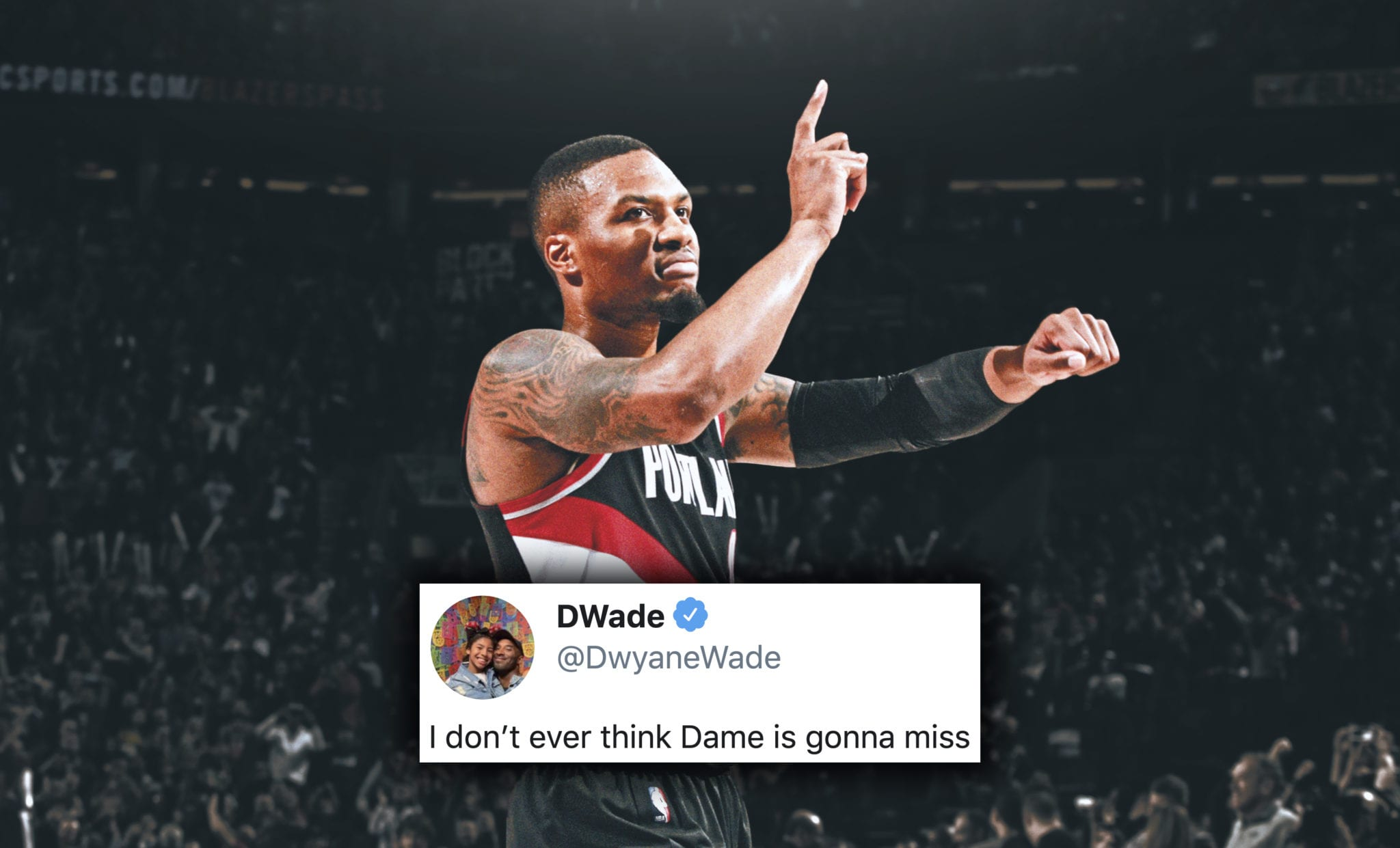 NBA Players React to Damian Lillard and Blazers Beating Lakers in Game 1
