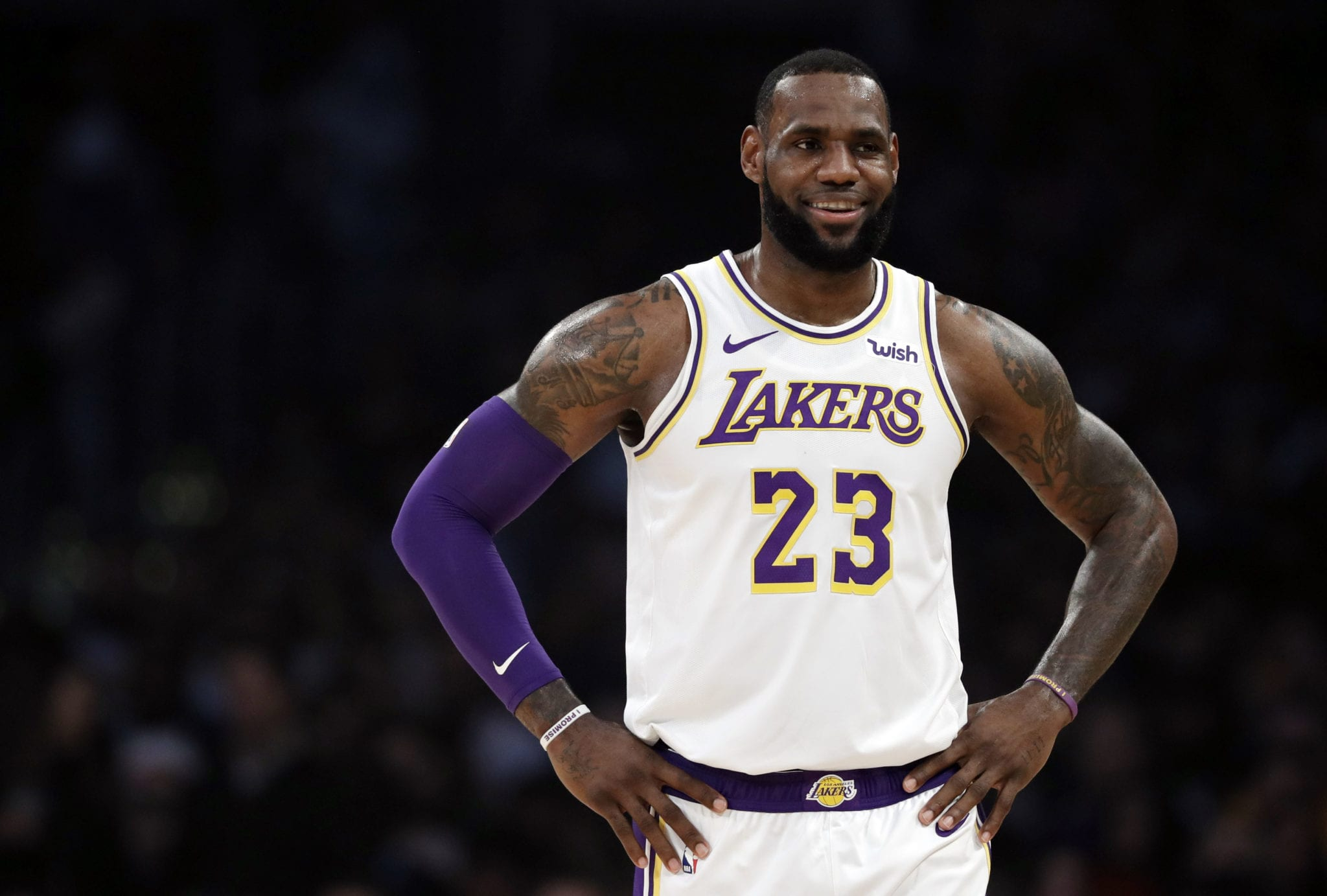 Lebron James Takes the High Road Against Donald Trump