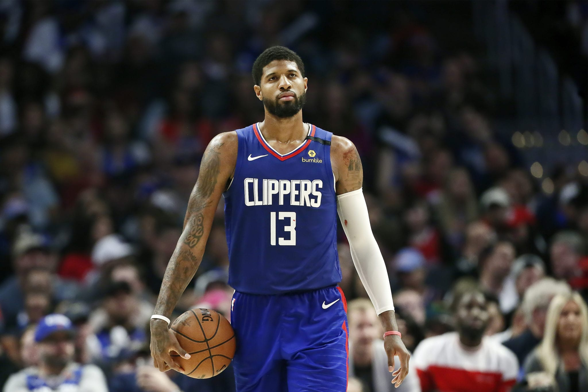 Doc Rivers Says Clippers Need to Get Paul George More Shots