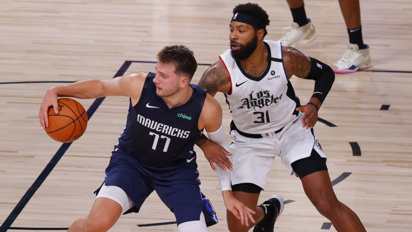 Marcus Morris Denies Trying to Hurt Luka Doncic's Ankle