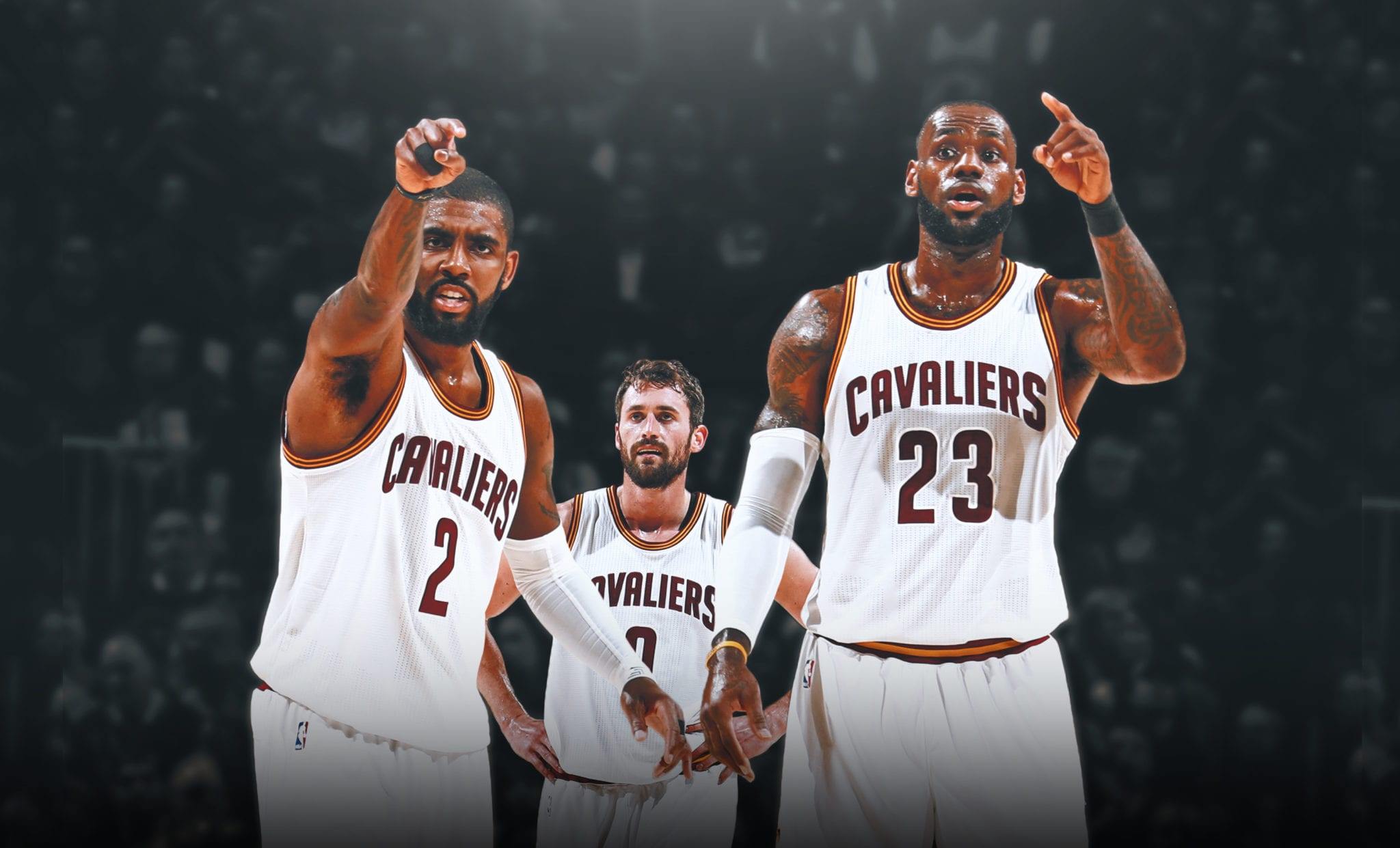 Kevin Love Explains What It's Like Going From Superstar to Third Wheel