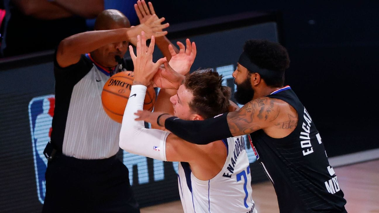 Luka Doncic Fined $15K, Marcus Morris $35K for Infractions in Round One