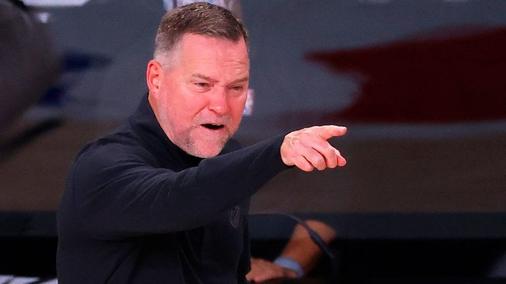 Nuggets coach Michael Malone