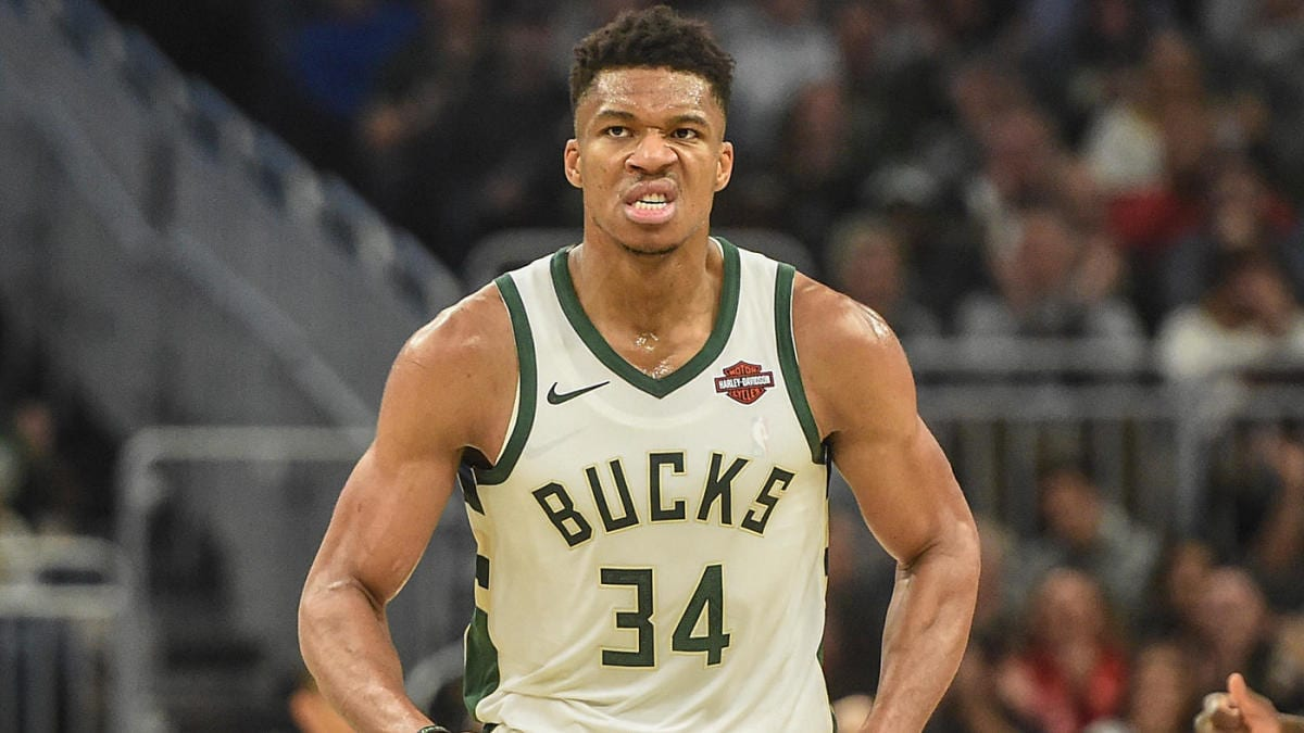 Bucks star Giannis Antetokounmpo