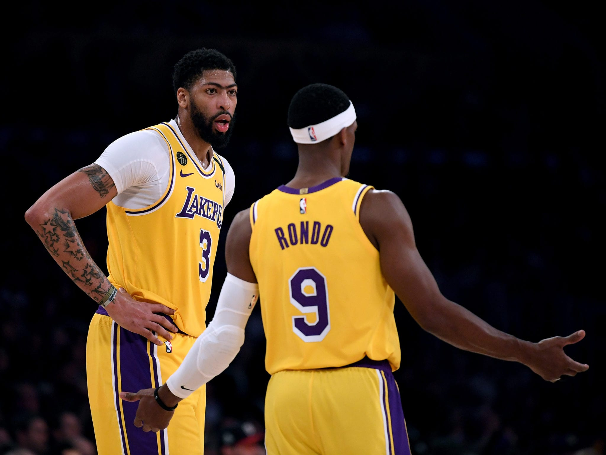 Anthony Davis Defends Rajon Rondo After Tough Return To Action