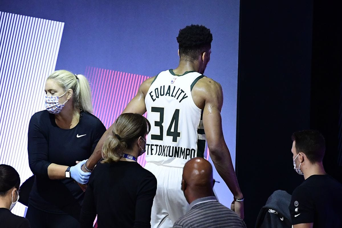 Giannis Antetokounmpo Still Not Ruled Out for Game 5 Despite Sprained Ankle