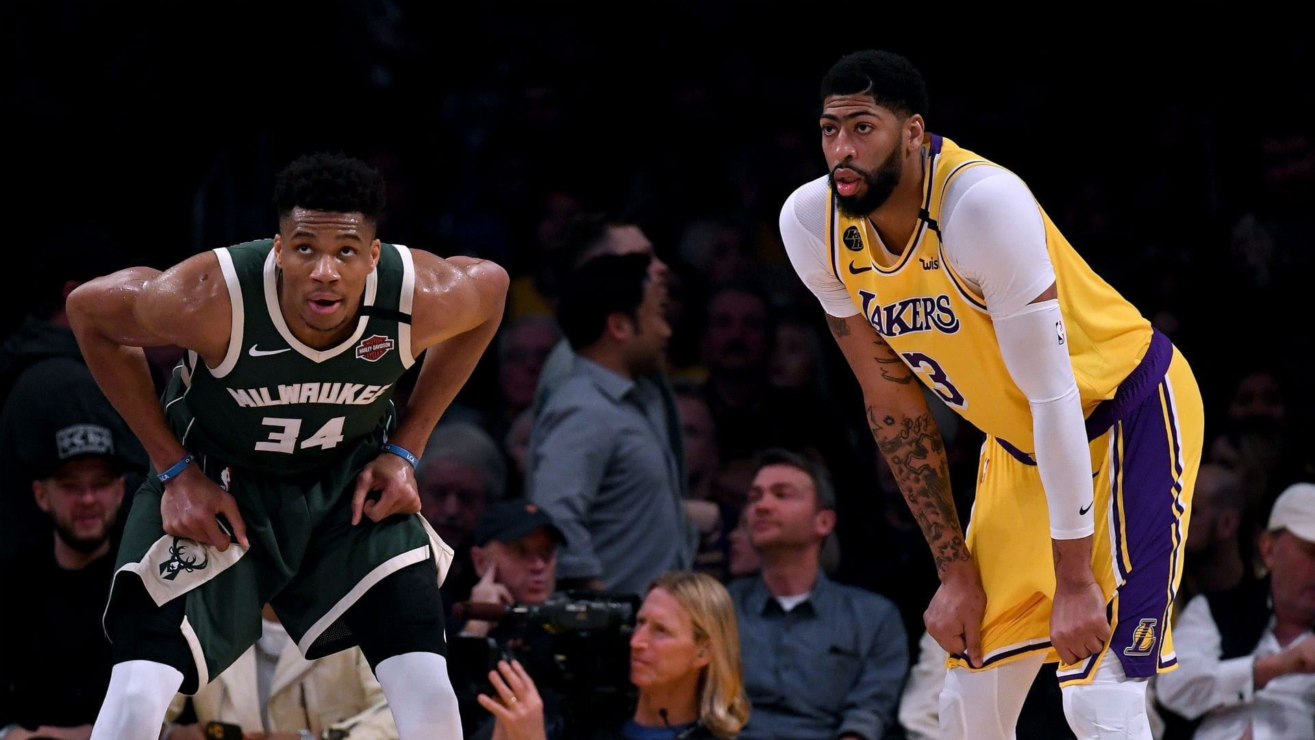 Giannis and Anthony Davis make the All-Defensive First Team
