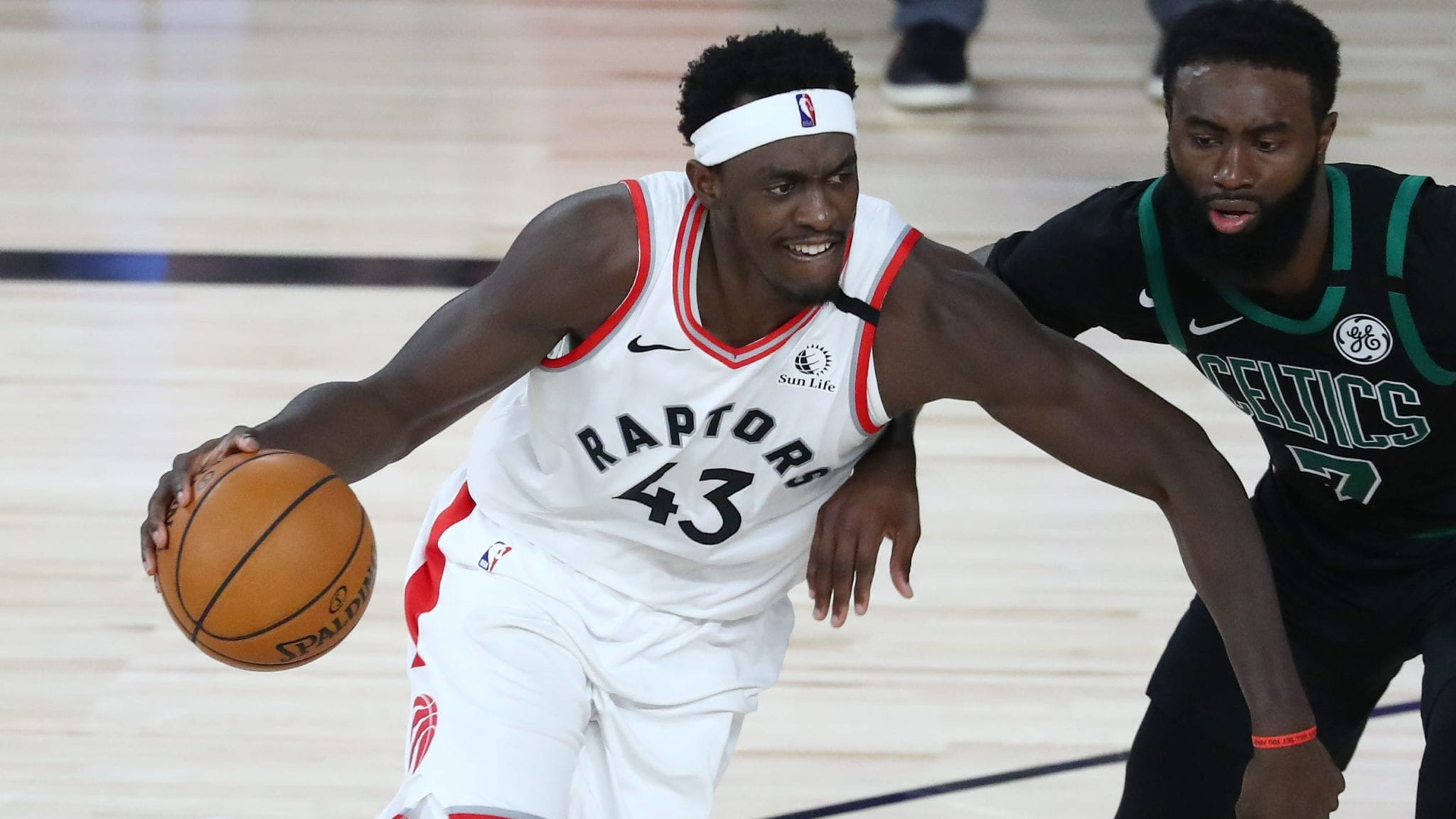 Raptors forward Pascal Siakam