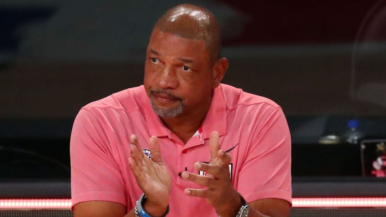 New Sixers head coach Doc Rivers