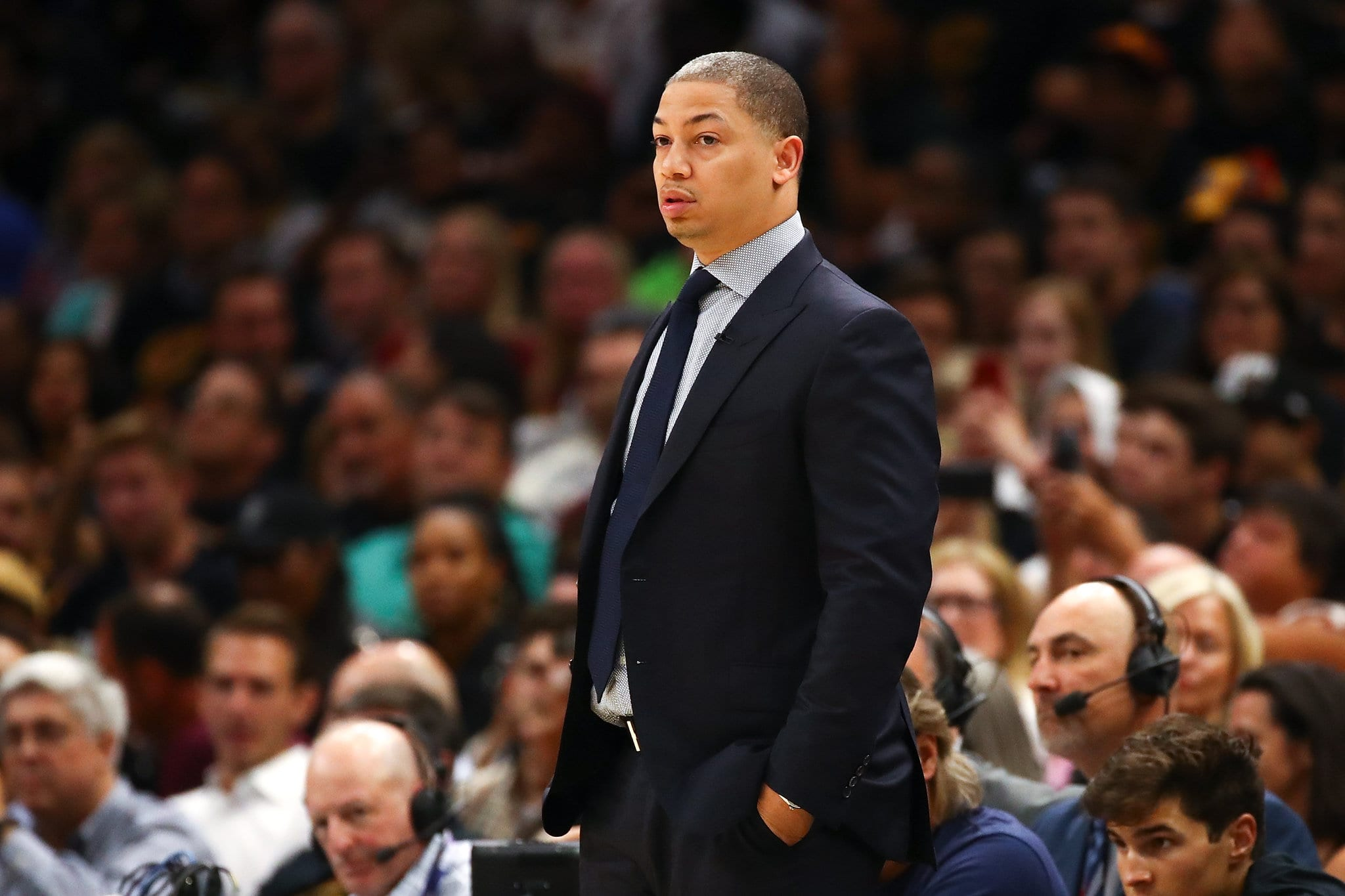 Tyronn Lue Rockets Interview