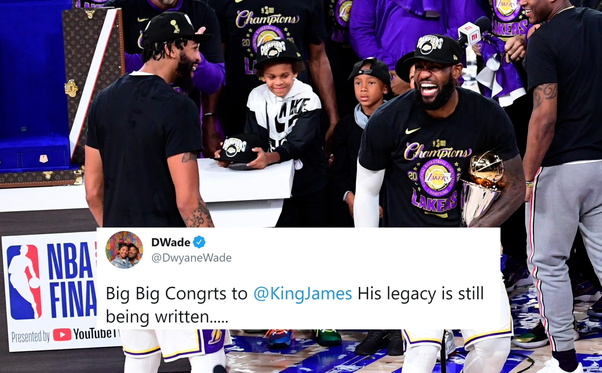NBA Players React to Lakers Winning 2020 NBA Championship