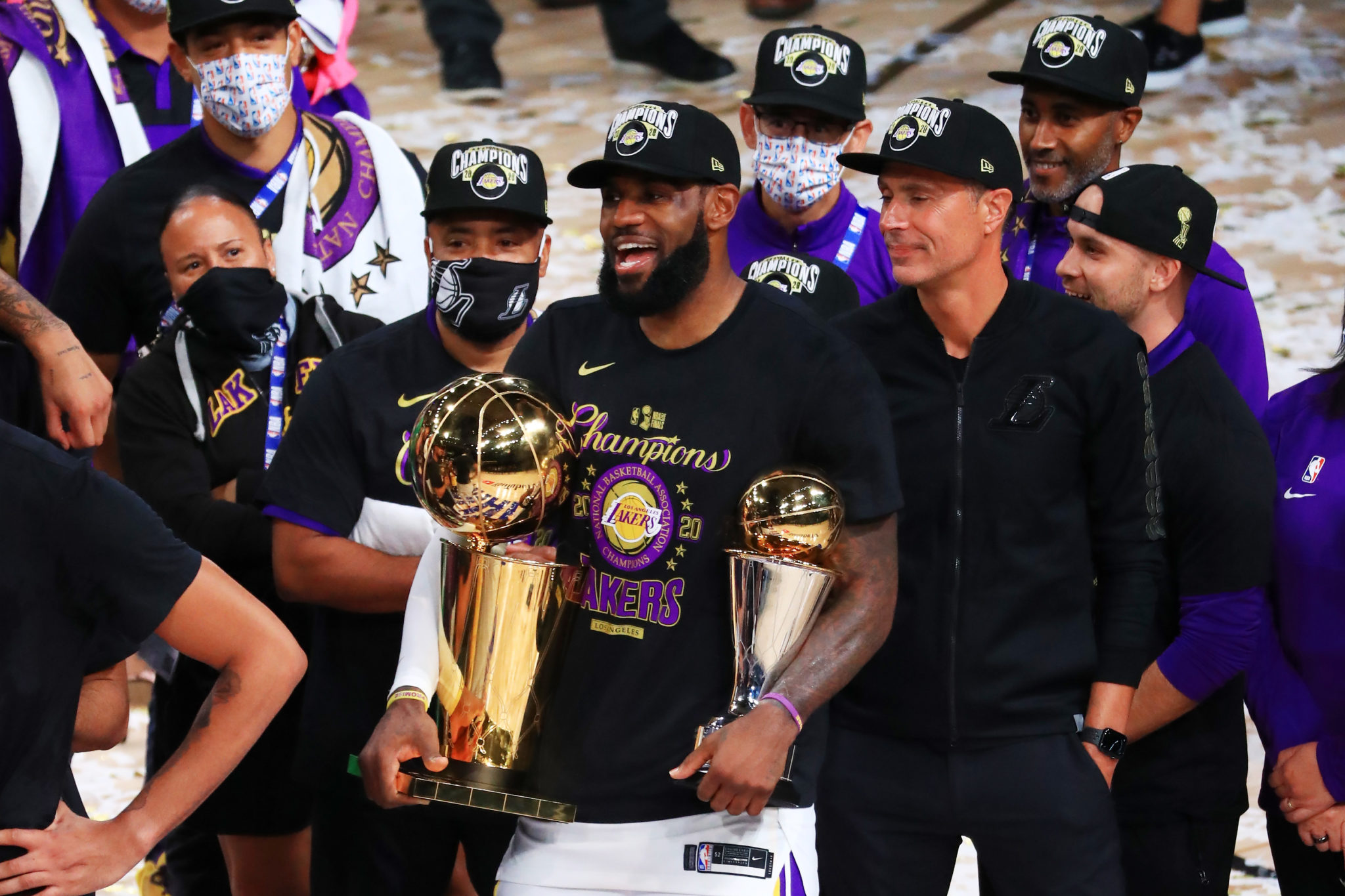 How the Lakers Crushed Miami in Game 6 to Clinch the Title