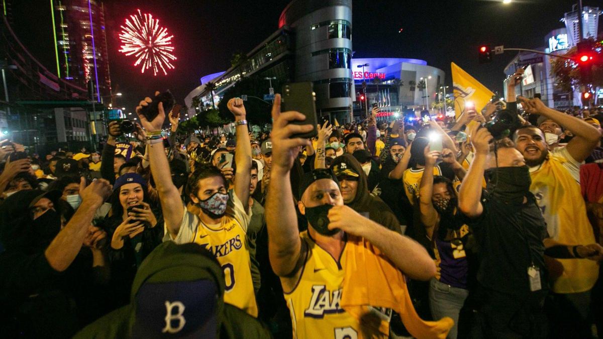 76 Arrested In Raucous LA Lakers Championship Celebrations