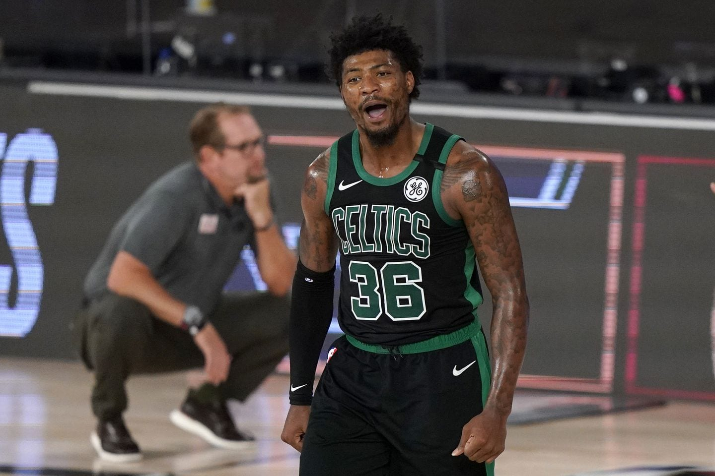 Boston's Marcus Smart Discusses Incident with Racist Celtic's Fan