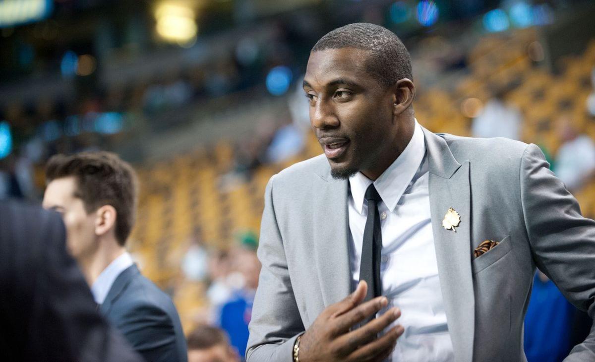Former Knicks player Amar'e Stoudemire