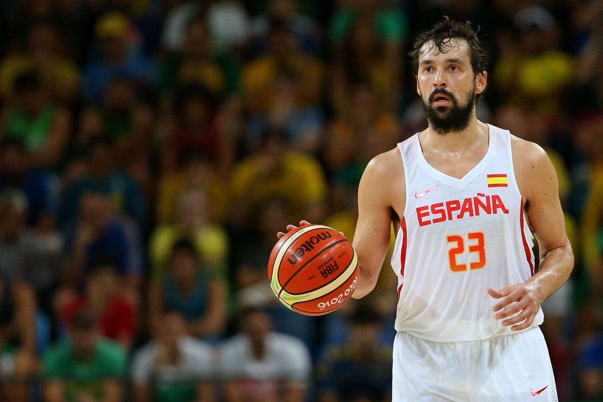 Sergio Llull of Spain