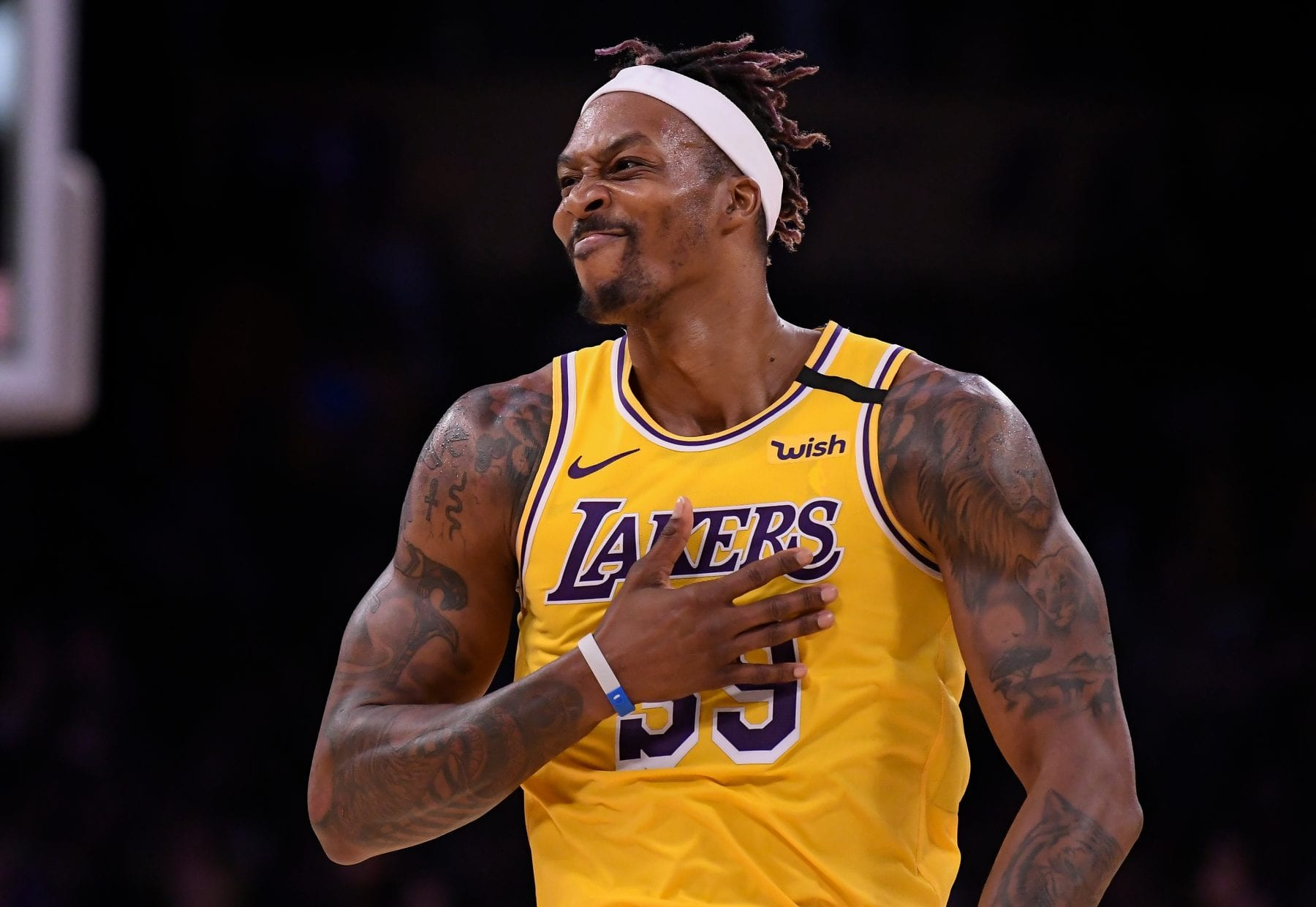 Dwight Howard Explains His 'Staying with the Lakers' Tweet