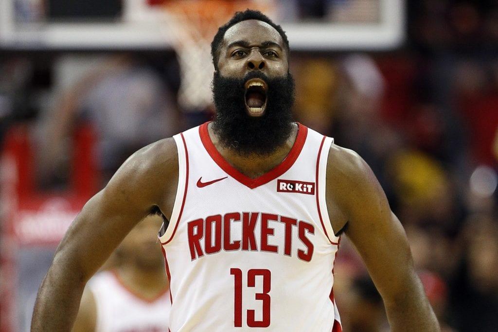 Rockets star James Harden