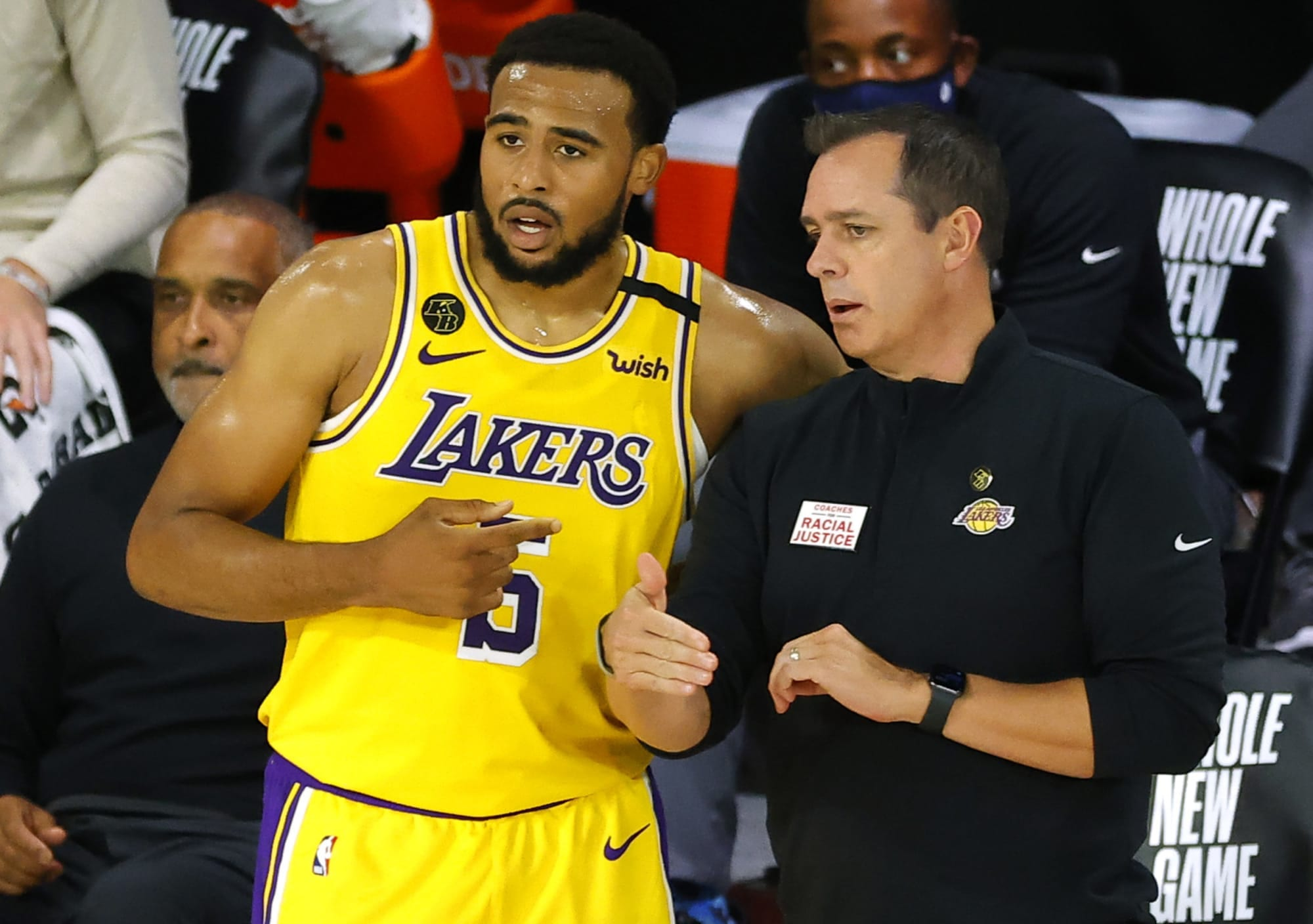 Talen Horton-Tucker Has Lakers Looking Like Back-To-Back Champs