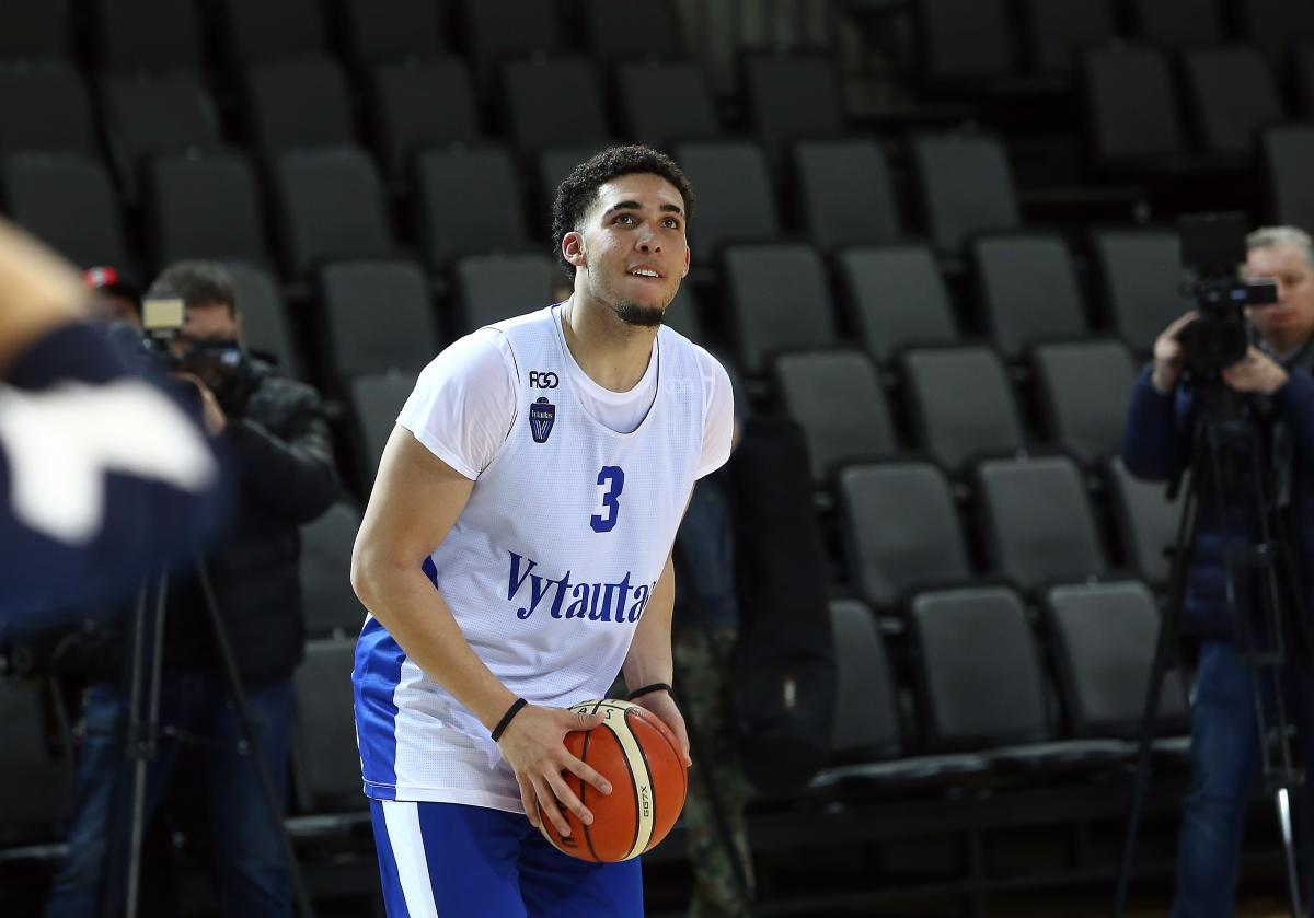 LiAngelo Ball was waived by the Pistons