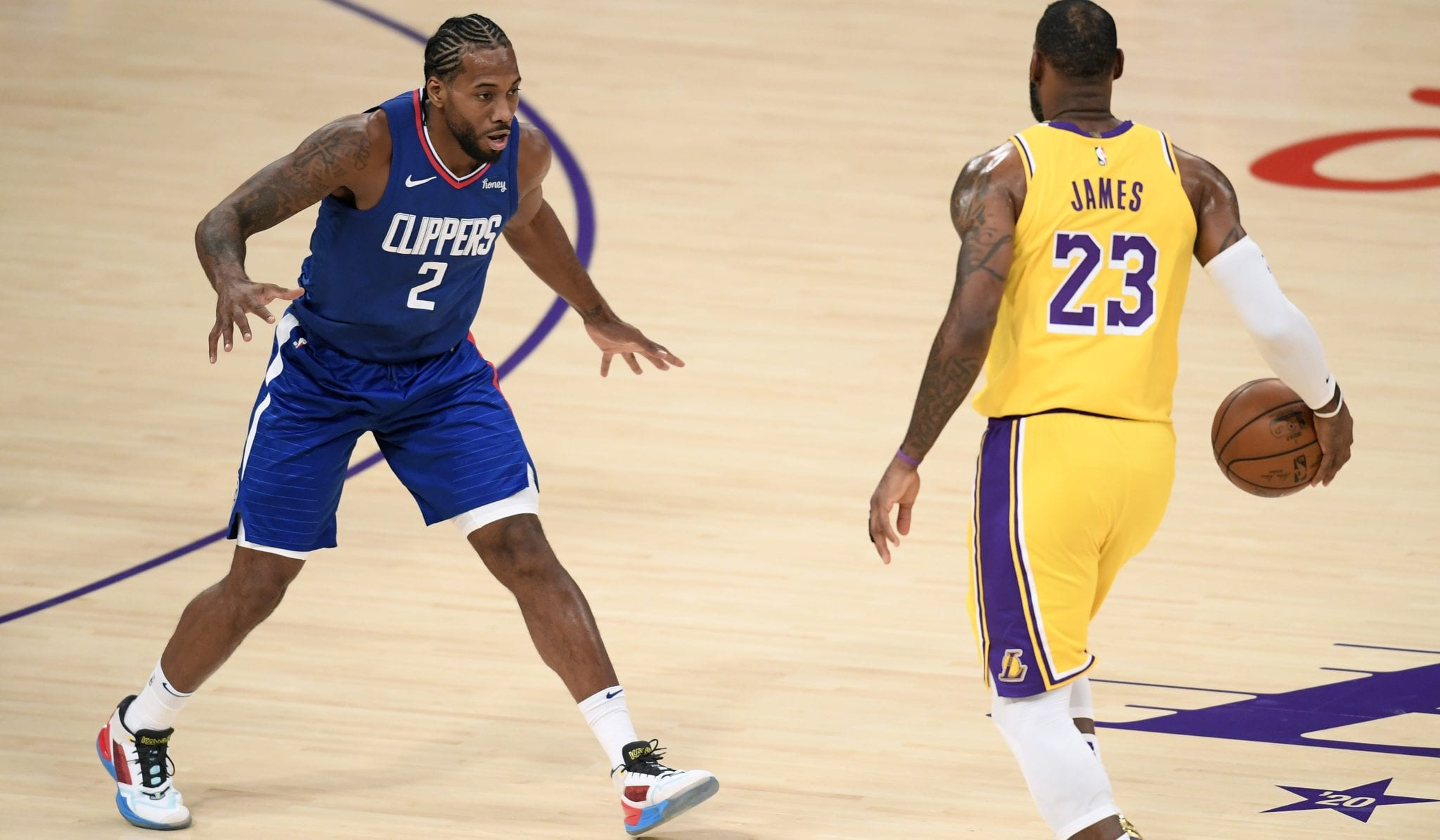 NBA Players React to Lakers-Clippers on Opening Night