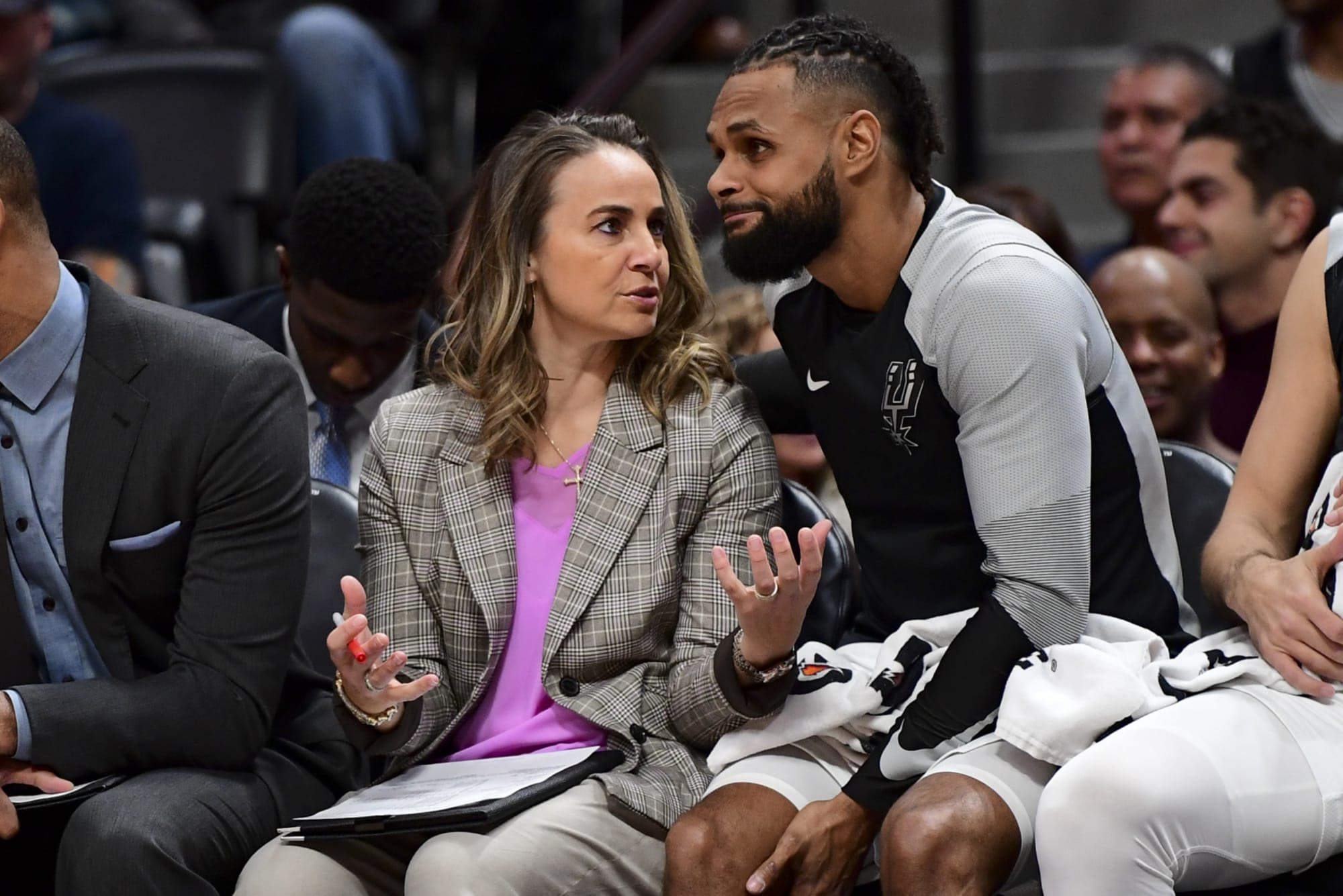 Spurs' Becky Hammon Becomes First Woman To Head Coach NBA Team