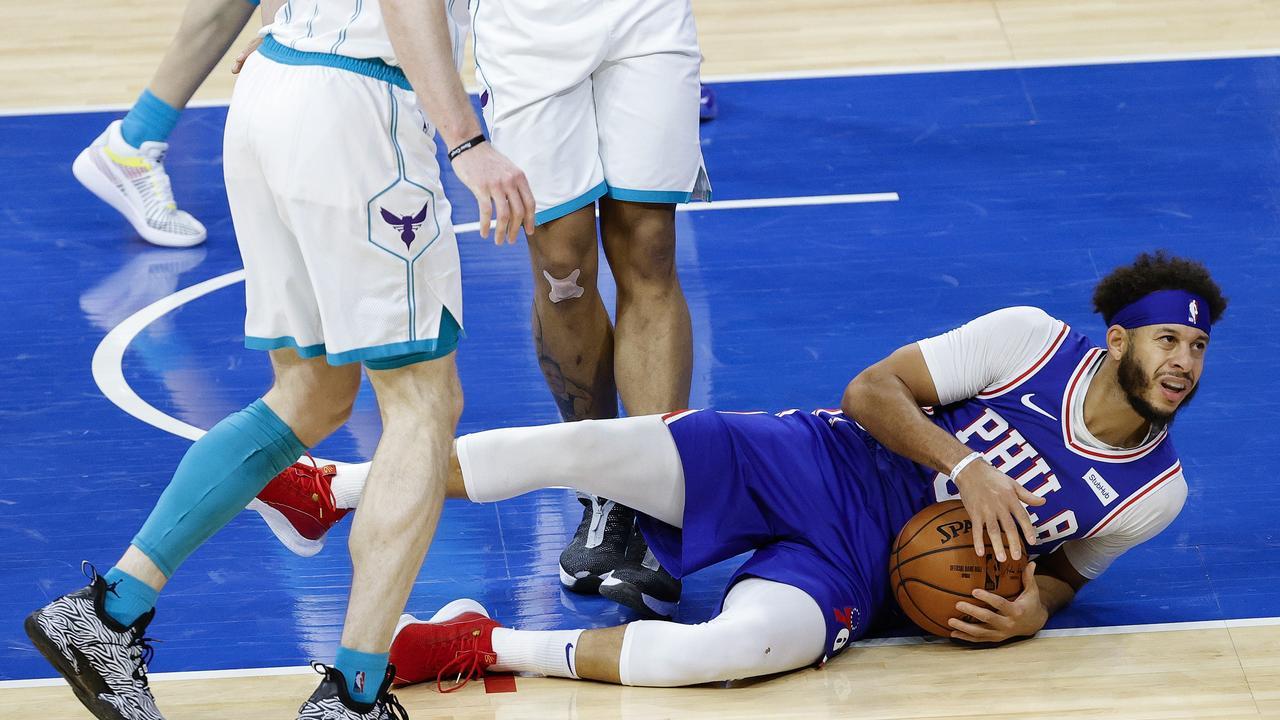 Philadelphia 76ers guard Seth Curry