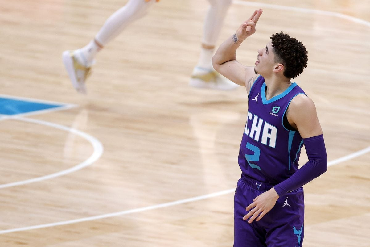 LaMelo Ball of the Hornets