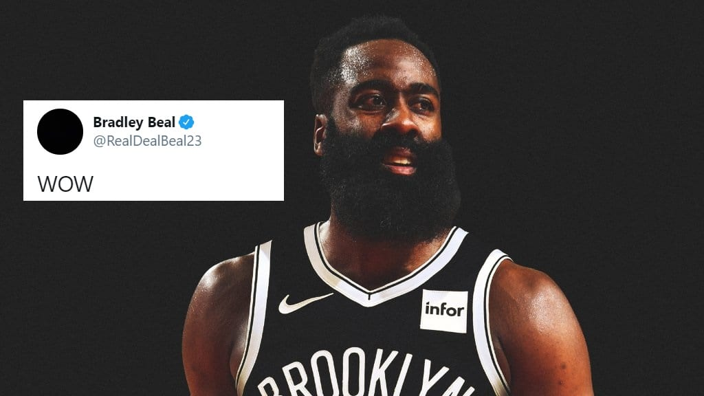 NBA Players React to Blockbuster James Harden Trade