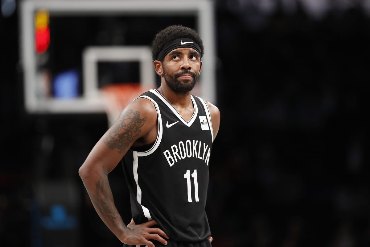 Kyrie Irving of the Nets