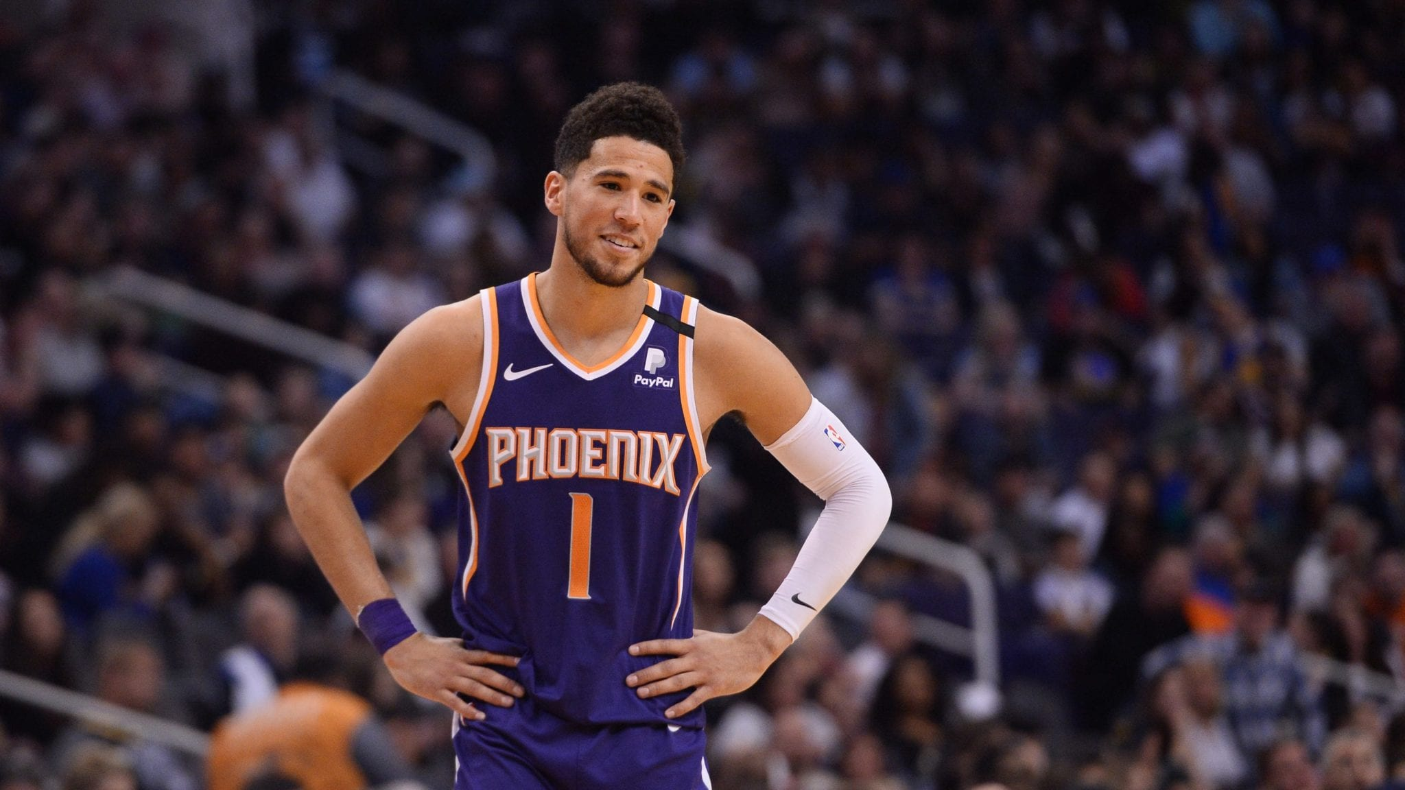 Devin Booker of the Suns